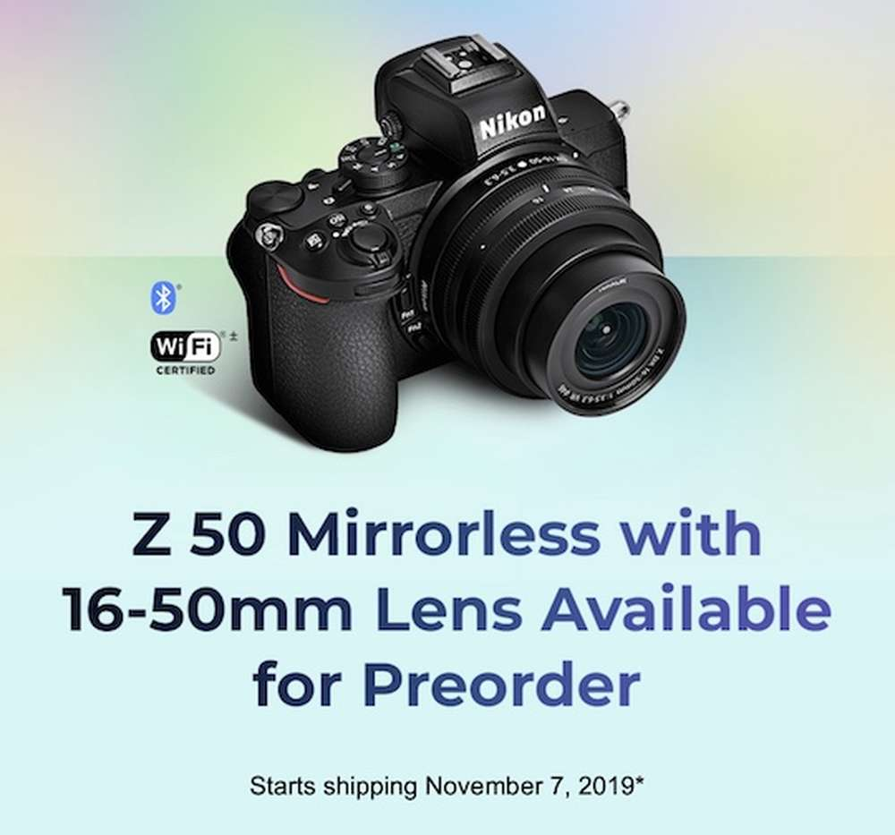 Nikon Z50 Additional Coverage