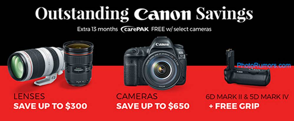 2019 Canon Black Friday Deals Now Live