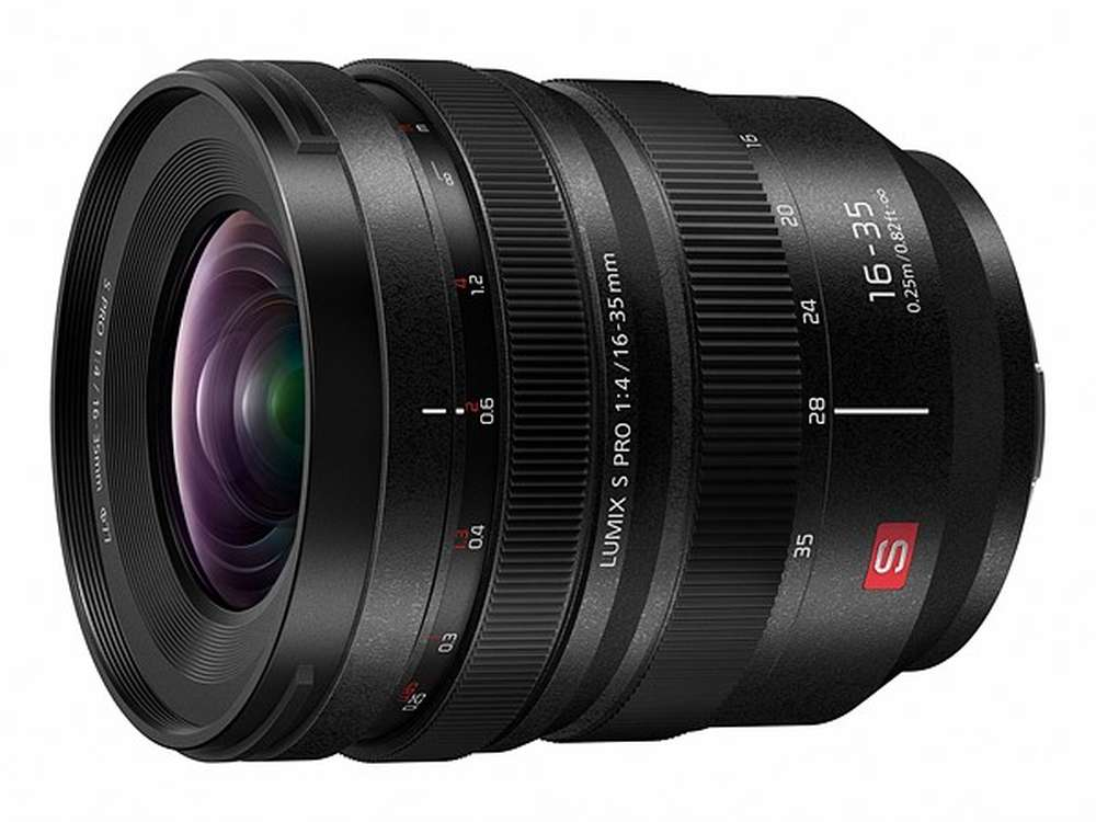 Panasonic Lumix S PRO 16-35mm f/4 & 70-200mm f/2.8 Lenses for L-mount