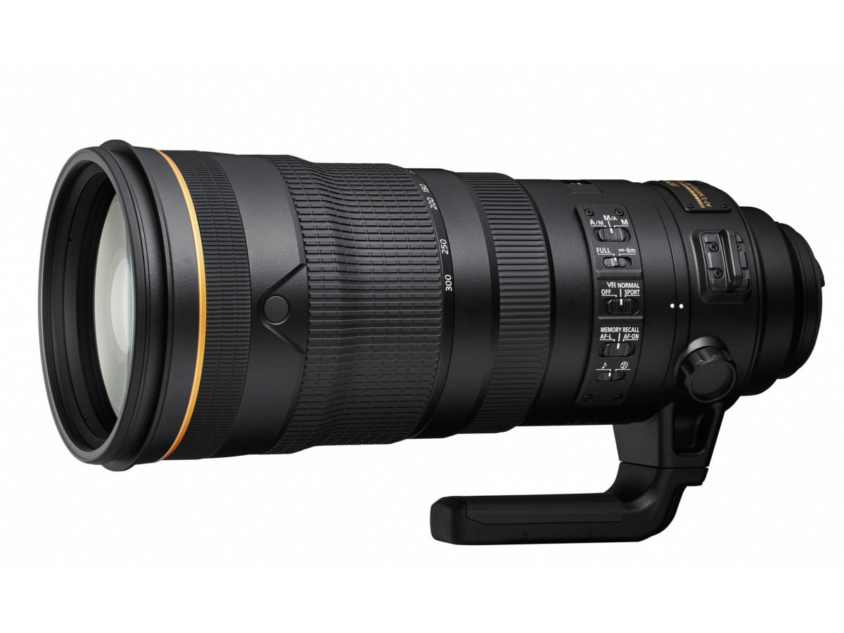 AF-S NIKKOR 120-300mm f/2.8E FL ED SR VR Lens will be Released Soon