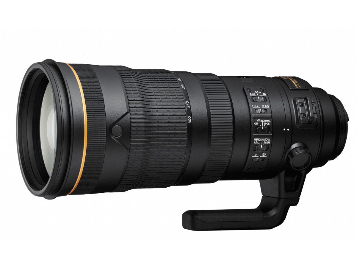 AF-S NIKKOR 120-300mm f/2.8E FL ED SR VR Lens will be Released Soon