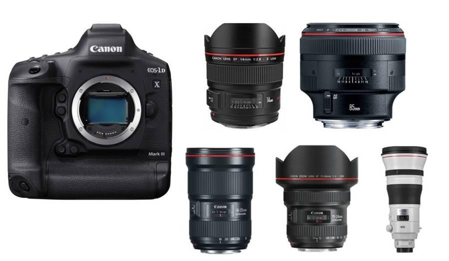 Best Lenses for Canon EOS-1D X Mark III