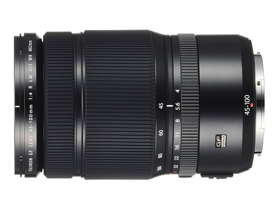 Fujifilm GF 45-100mm f/4 R LM OIS WR Lens Price $2,300