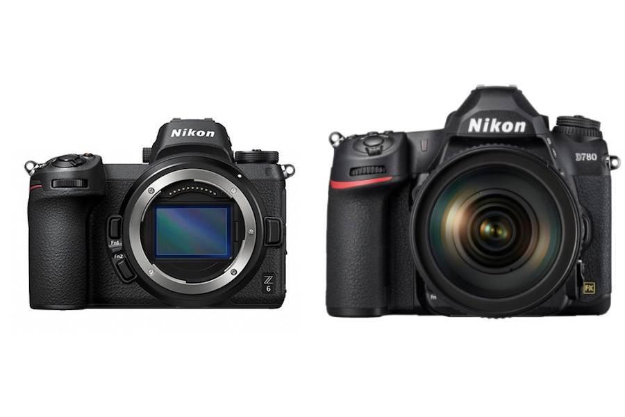 Nikon D780 vs Nikon Z6 – Comparison