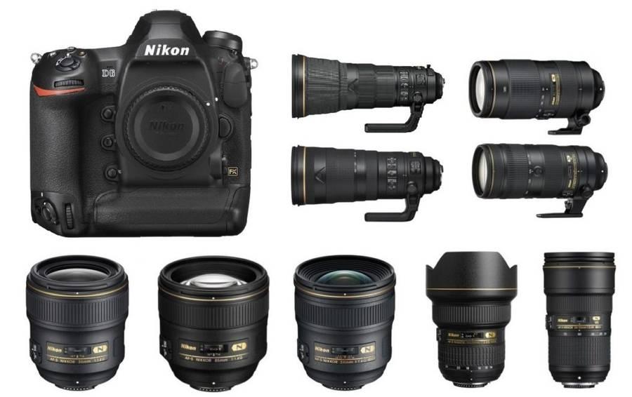 Best Lenses for Nikon D6