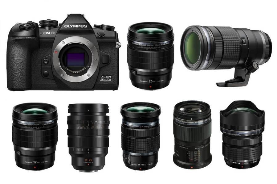 Best Lenses for Olympus OM-D E-M1 Mark III
