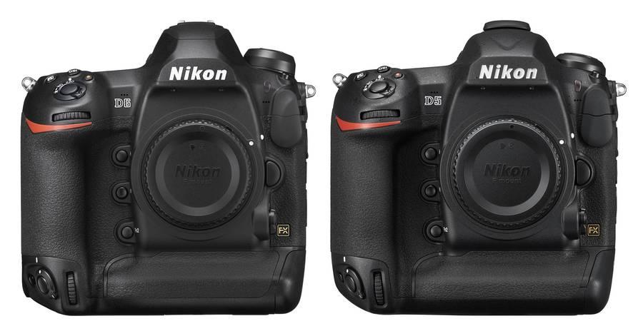 Nikon D6 vs Nikon D5 Specifications Comparison