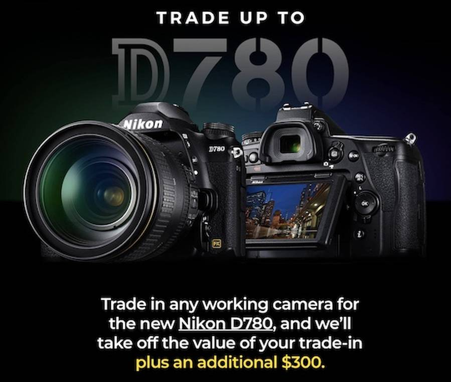 New Nikon D780 Trade-in Program Now Live in US