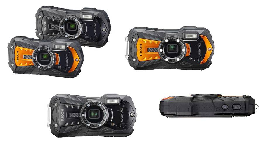 Ricoh WG-70 Ultra-Rugged Compact Camera