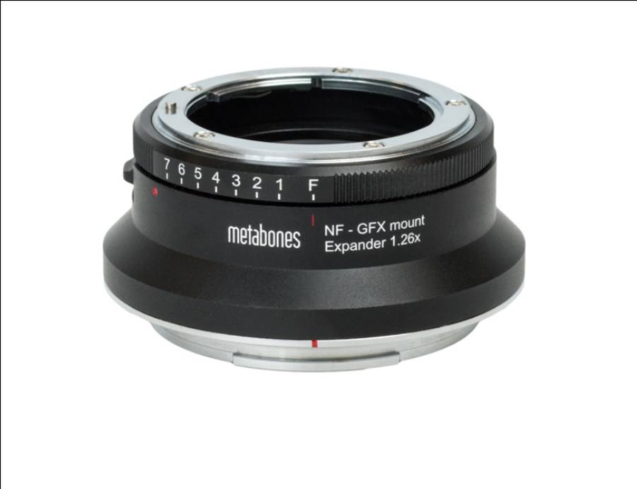 Metabones launches Nikon F to Fuji G-mount (GFX) Expander 1.26x