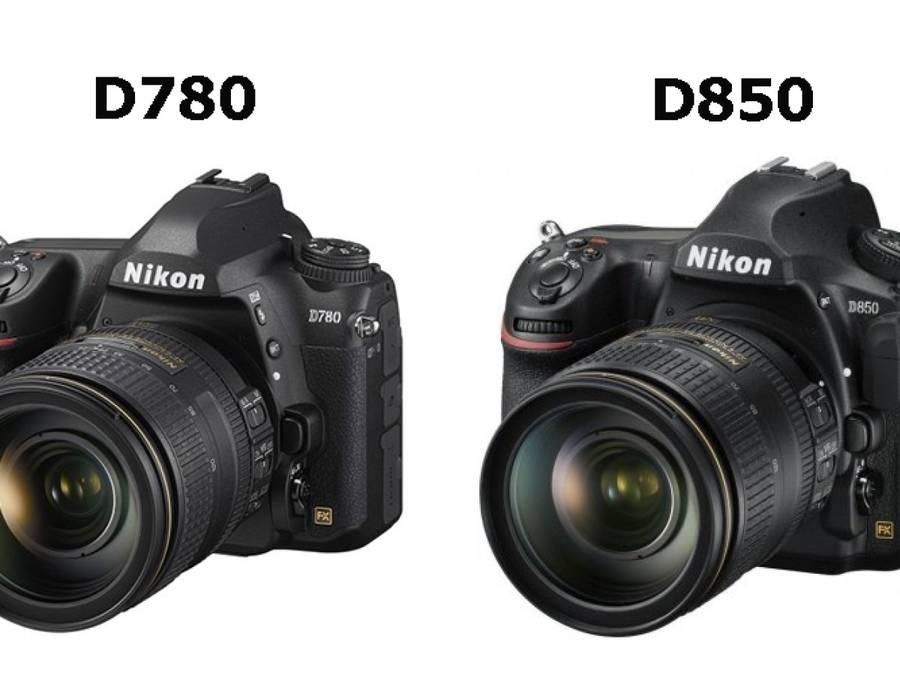 Nikon D780 vs Nikon D850 – Comparison