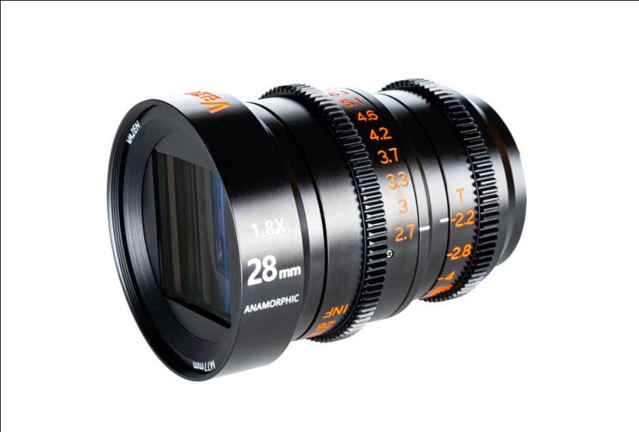 Vazen 28mm T/2.2 1.8x Anamorphic Lens Announced For MFT
