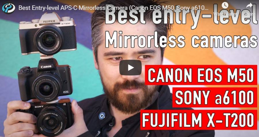 Canon EOS M50 vs Sony a6100 vs Fujifilm X-T200 – Comparison