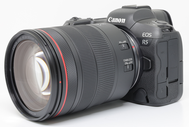 Canon EOS R5 Registered at Korean for 5GHZ Wi-Fi
