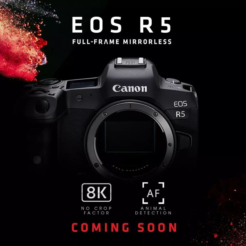 Canon EOS R5, R6 and More to be Announced on July 9