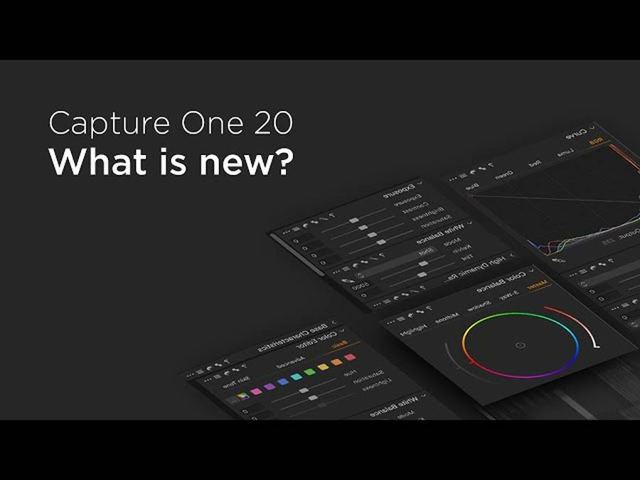 Capture One Pro 20 Adds Support for Fujifilm X-T4, X100V, Nikon D780, D3500 and More
