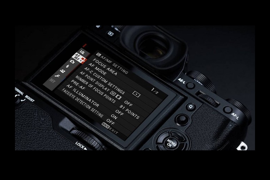 fujifilm x t2 check firmware version