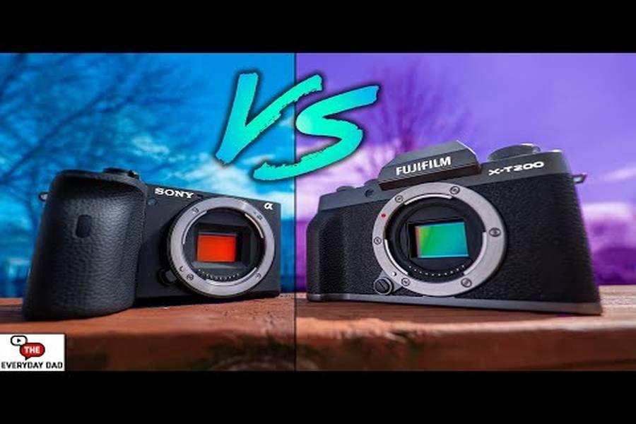 Fujifilm X-T200 vs Sony a6600 Real World Comparison