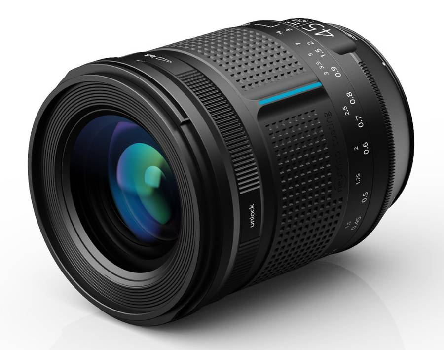 Irix 45mm f/1.4 Full-Frame Manual Focus DSLR Lens