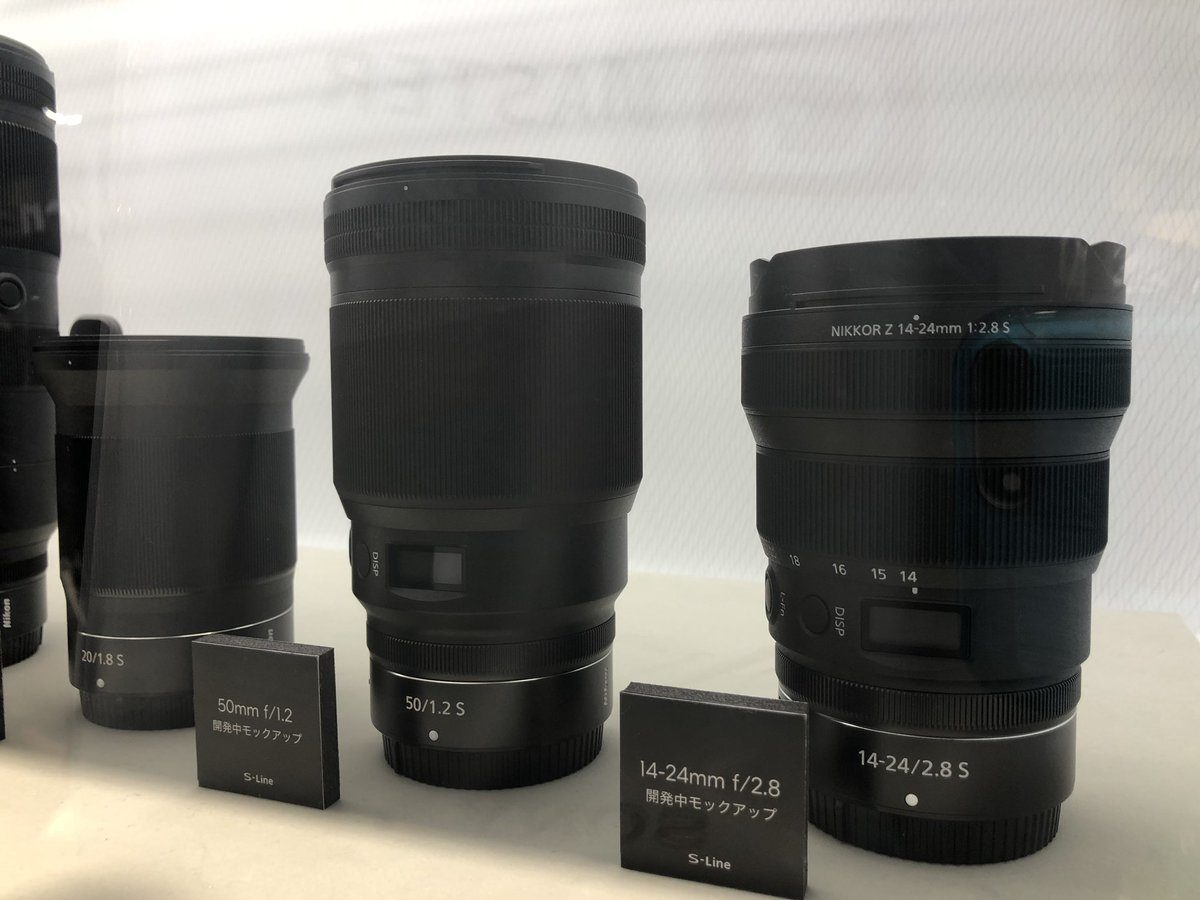 More NIKKOR Z f/1.2 Prime Lenses Coming in 2020
