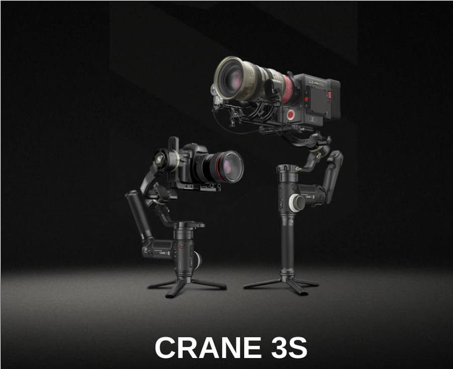 Zhiyun-Tech CRANE 3S Gimbal Stabilizer Announced