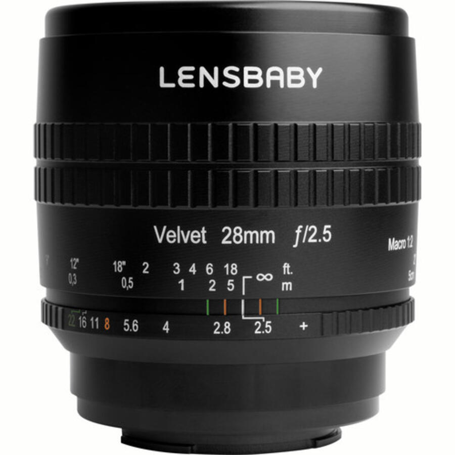 Lensbaby Velvet 28mm f/2.5 Lens Announced, Price : $549.95