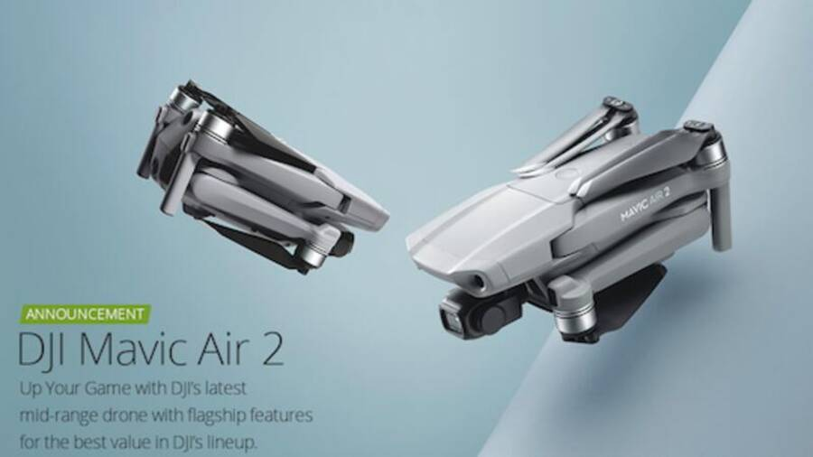DJI Mavic Air 2 Now Available for Pre-order
