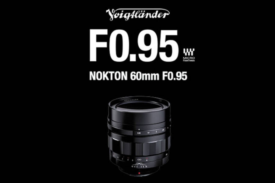 Voigtlander Nokton 60mm f/0.95 MFT Lens in Stock and Shipping