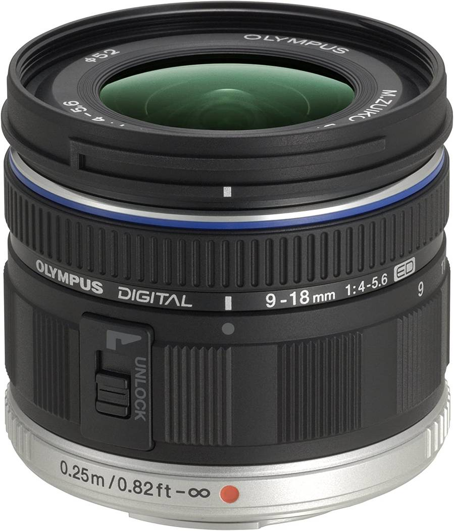 Olympus 9-18mm f/4-5.6 Lens Review : Wide, Tiny & Super Sharp
