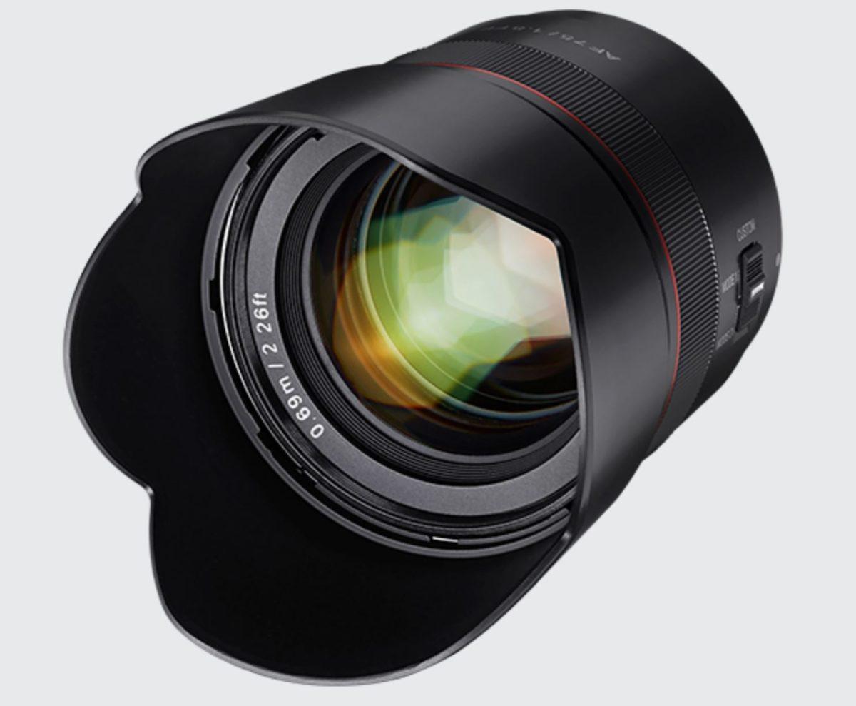 Samyang AF 75mm f/1.8 FE Lens Available for Pre-order for $399