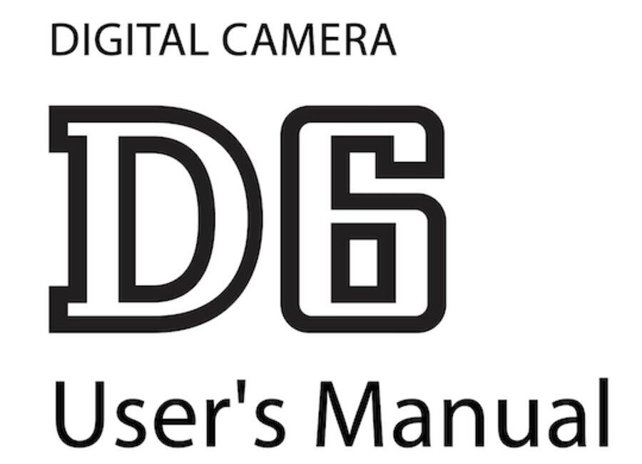 Download Nikon D6 User Manual Guide