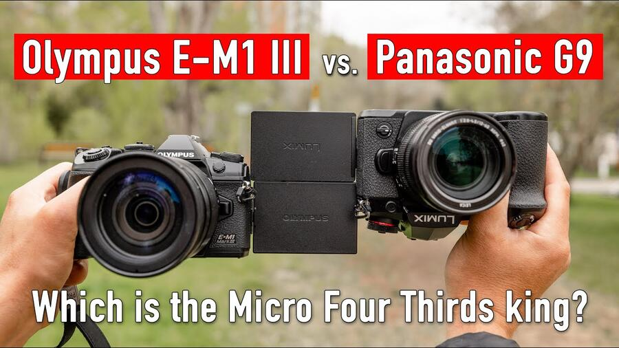 Panasonic G9 vs Olympus E-M1 Mark III : Which is the King of MFT ?