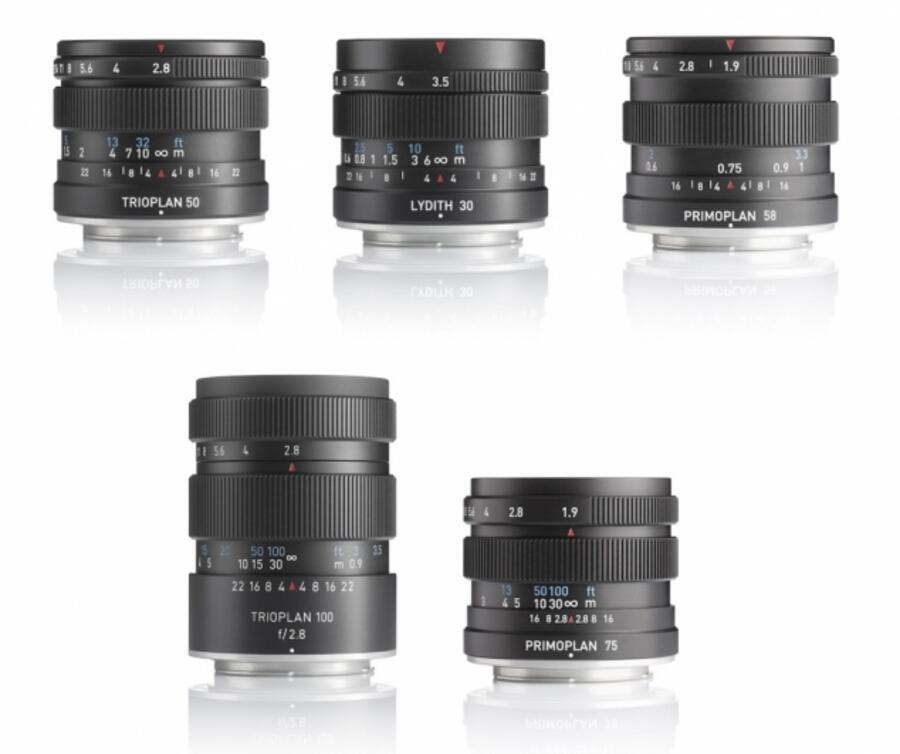 New Meyer-Optik Görlitz MK II Lenses Now Available