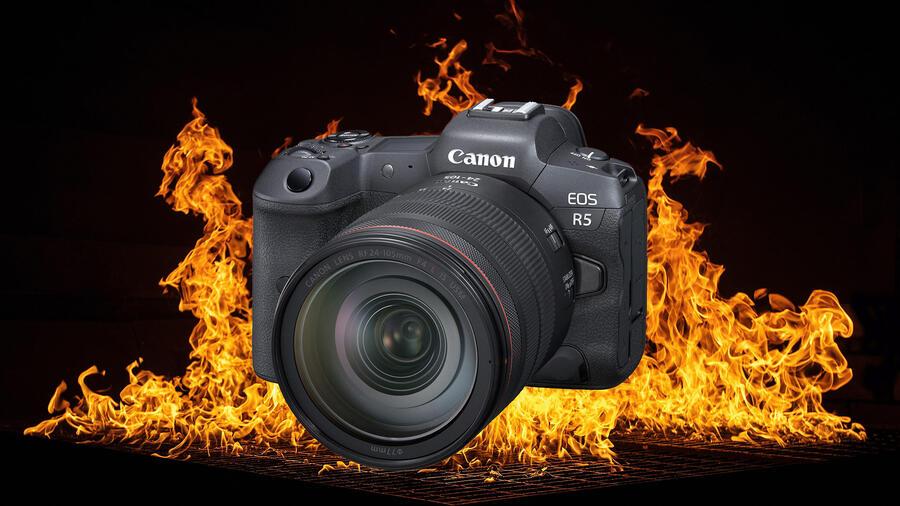 Canon EOS R5 8K Film : Overheating in 15 Minutes! R5 vs R6 vs Fujifilm X-T4 Video Review