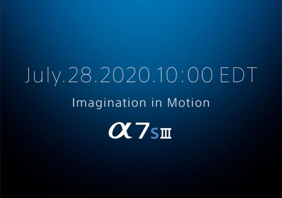 Sony a7S III to be Announced on July 28, 2020