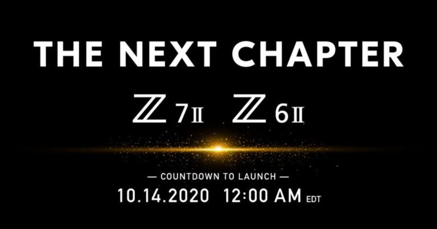 Nikon Z6 II and Z7 II to be Annouced on October 14th, Listed at B&H