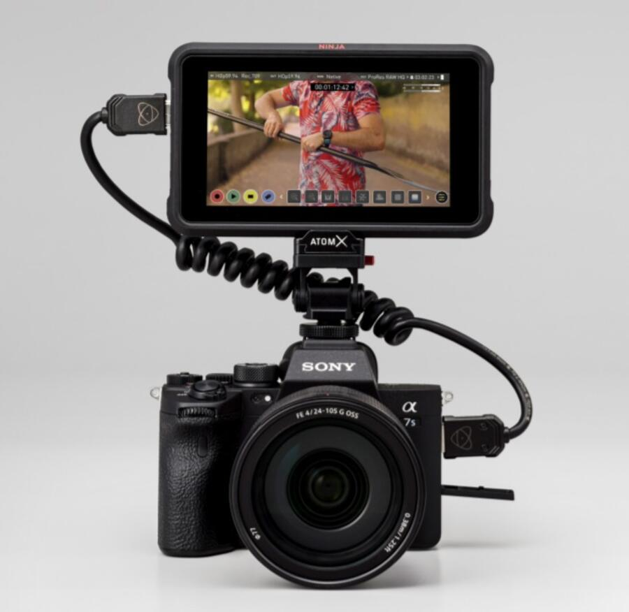 Atomos Enable 4K60p RAW over HDMI from Sony a7S III with Ninja V Free Firmware Update