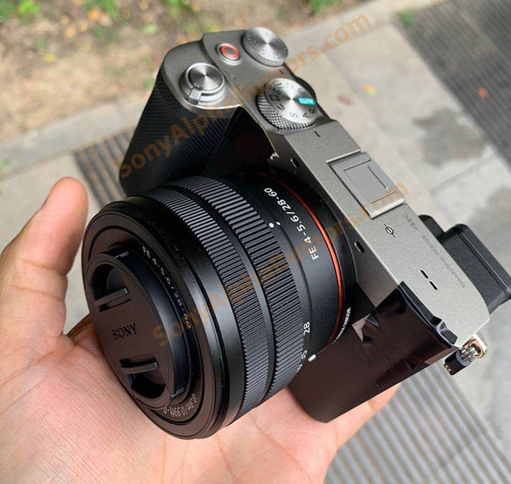 Leaked : Sony a7c Image with 28-60mm Lens