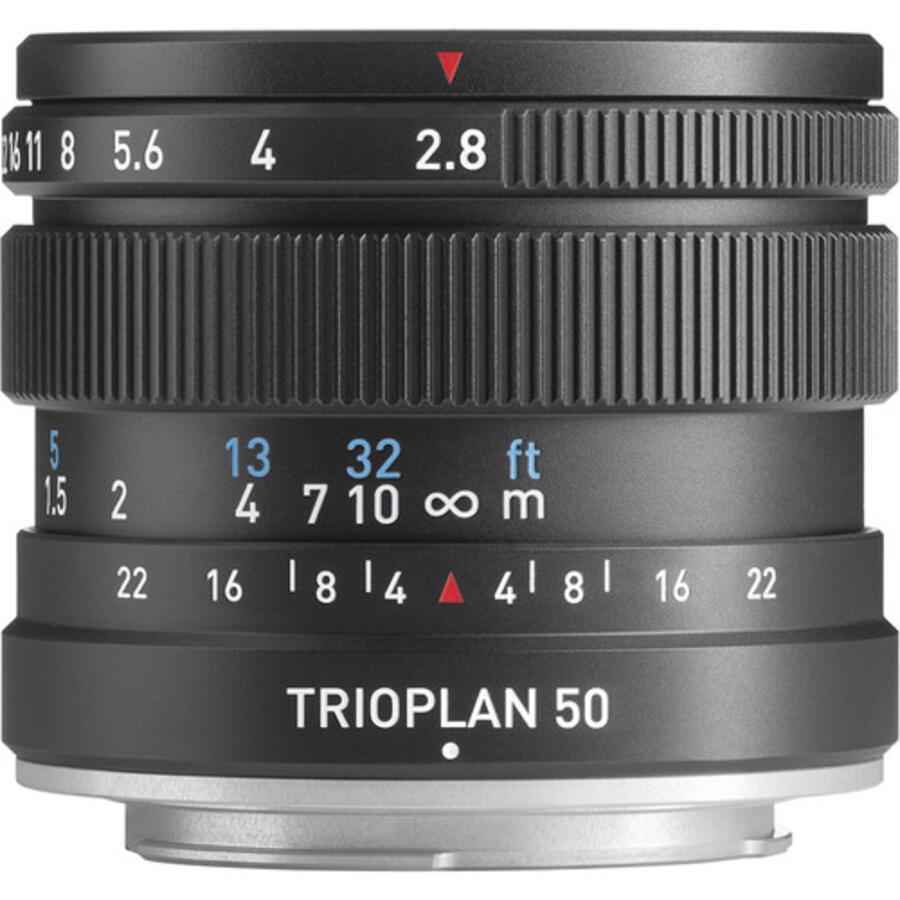 Meyer Optik Gorlitz Trioplan 50mm f2.8 II Lens for Fuji X, Sony E, M43, and Leica L