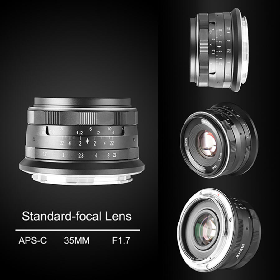 Meike 35mm f/1.7 Lens Announced for APS-C Mirrorless Cameras