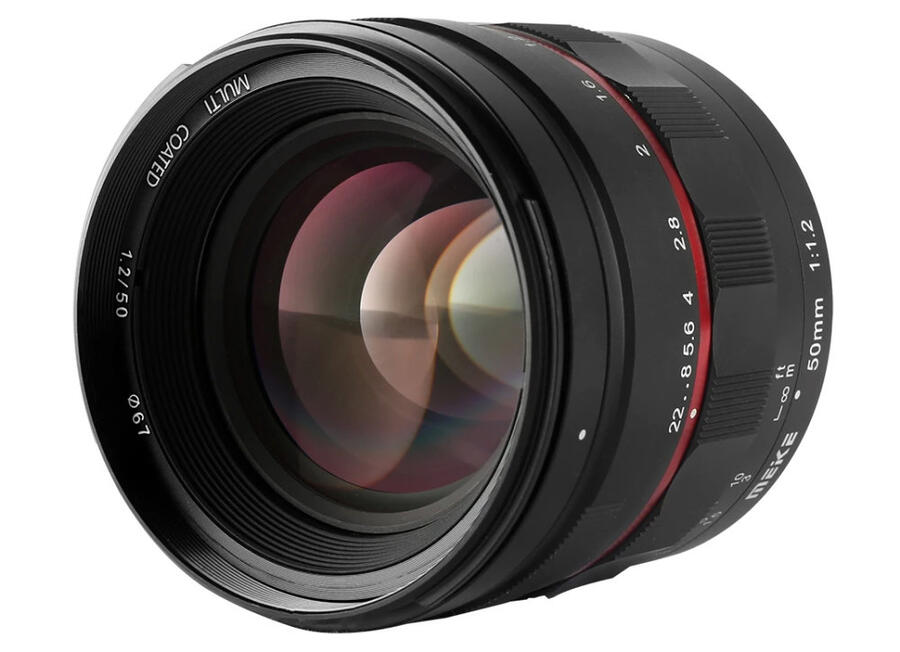 Meike 50mm f1.2 Lens for Canon RF, Leica L, Nikon Z, Sony E Mounts