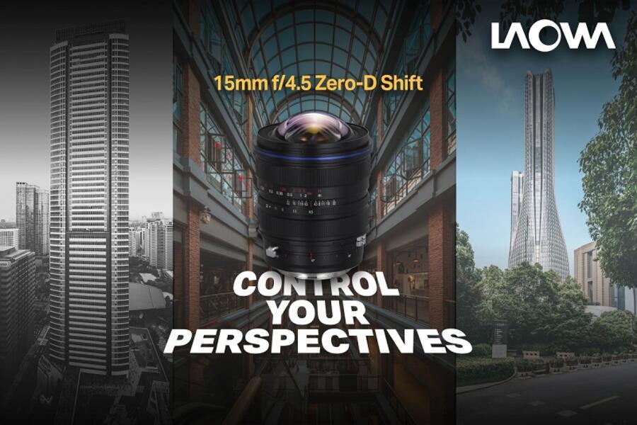 New Venus Optics Laowa 15mm f/4.5 Zero-D Shift Lens for Mirrorless Cameras