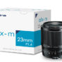 Tokina atx-m 23mm f/1.4 X & atx-m 33mm f/1.4 X lenses for Fujifilm X-mount