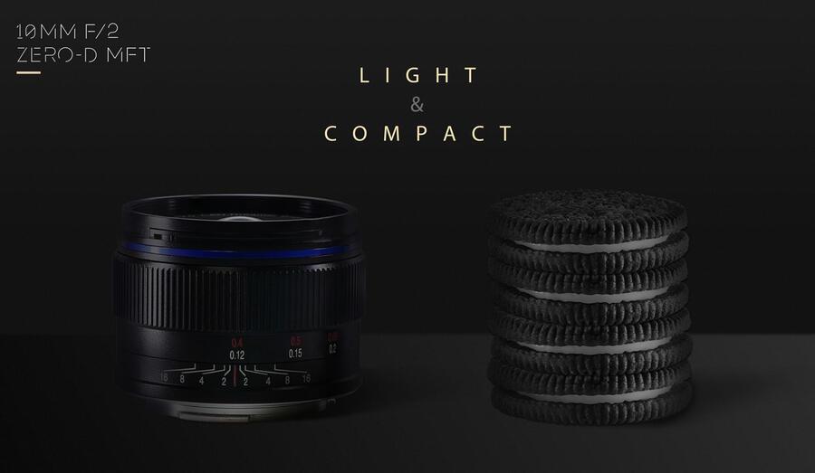 Venus Optics Unveils Laowa 10mm f/2 Zero-D MFT Lens