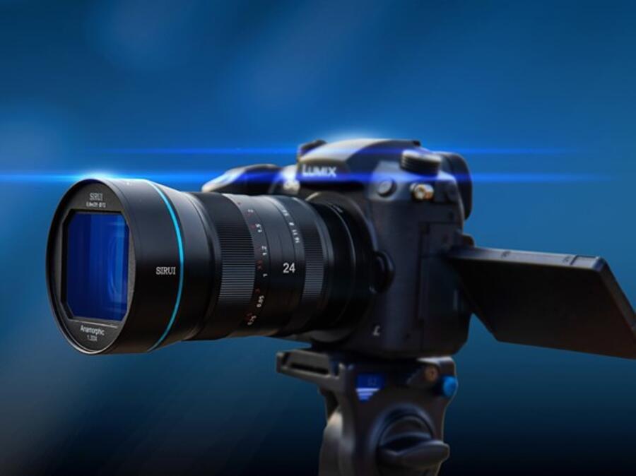 Sirui 24mm f/2.8 1.33x Anamorphic APS-C Lens Announced