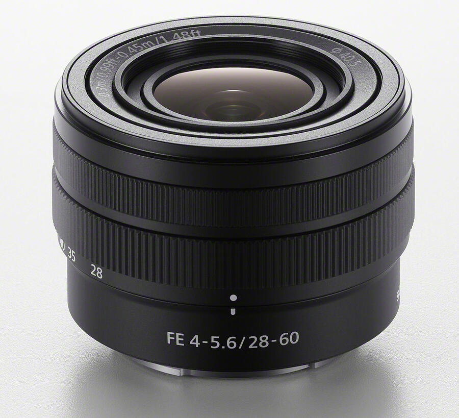 Sony FE 28-60mm f/4-5.6 Lens in Stock and Shipping
