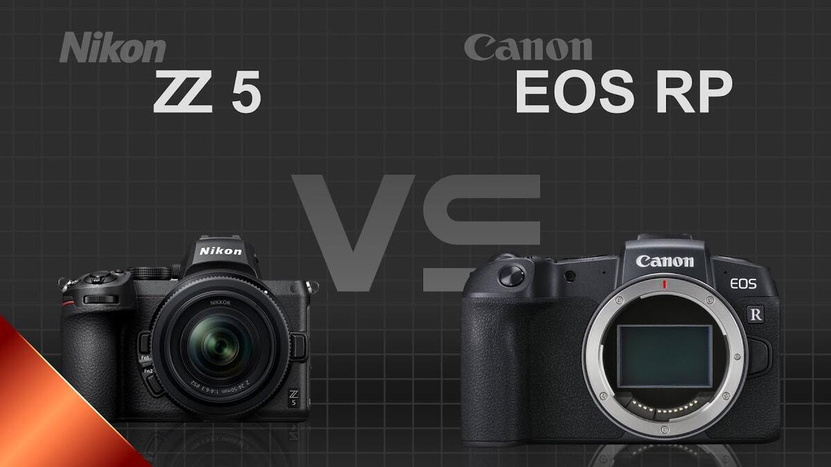 Buying Guide : Canon EOS RP vs Nikon Z5 Comparison