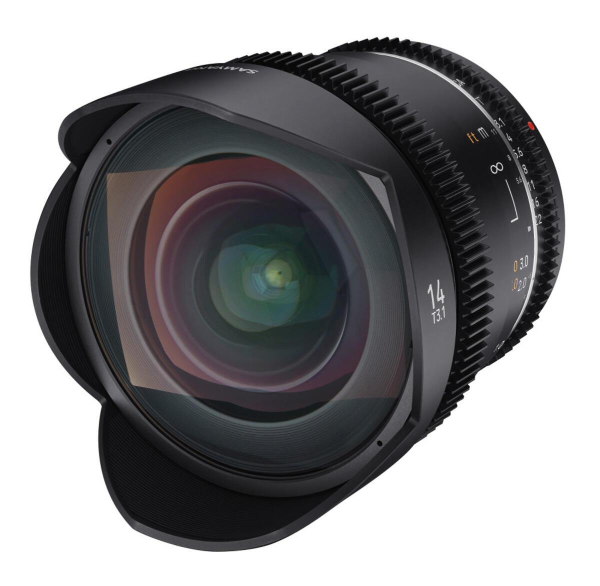 New Samyang 14mm T3.1 MK2 VDSLR Cine Lens