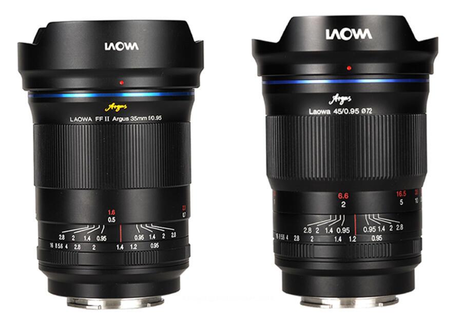 Venus Optics Announced New f/0,95 Argus Lenses for Sony E, Fuji X and MFT
