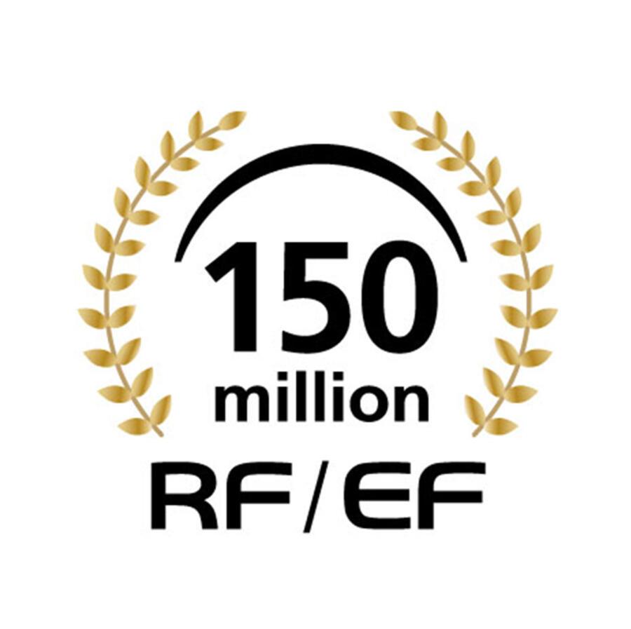 Canon celebra la produzione di 150 milioni di obiettivi RF ed EF intercambiabili